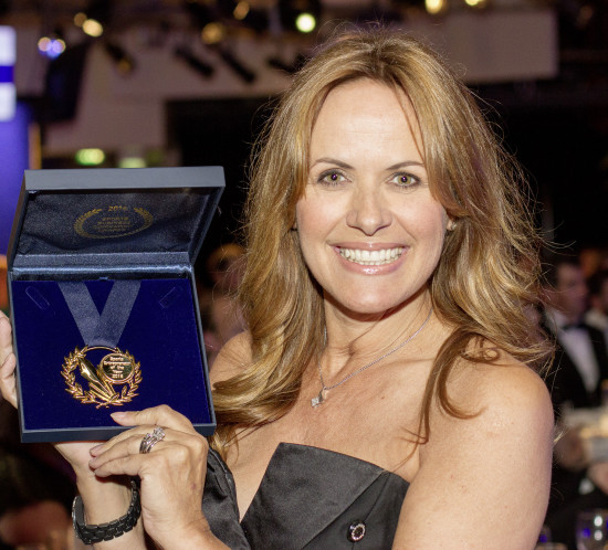 Carol Smillie wins Sports Entrepreneur of the Year