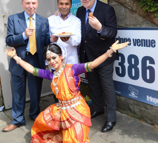 Indian Street Festival Launch With Alex Salmond MP